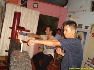 Shaolin Wushu Monk Training