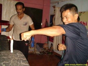 Shaolin Warrior Monk Training