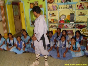 Indian Girls Self-Defense Training Program in India.