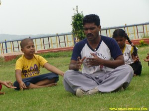 Yoga Training Master Shifu Prabhakar Reddy