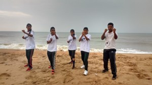 Indian Kung-fu Ladies Training Camp