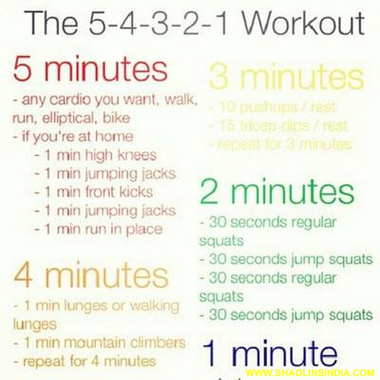 Fitness Work Outs