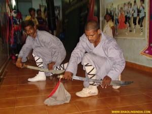 Shaolin Wushu Dao Training