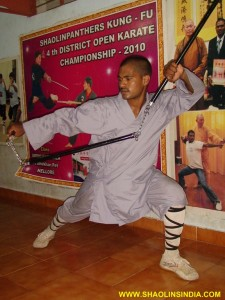 Shaolin Monk Trainer Shifu Prabhakar Reddy