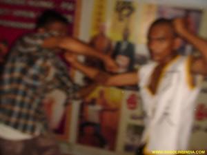 Shaolin Wushu Sanshou Training