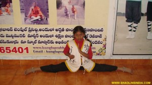 Shaolin Wushu Training Girls India