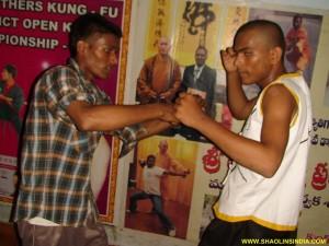 Shaolin Wushu Training Combat