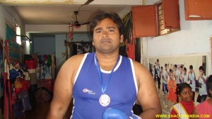 National Boxer Rajesh