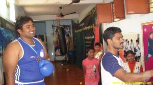 National Heavy Weight Boxer India