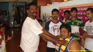 Boxing Champion Rajesh in