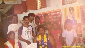 Andhra Boxing Training Student
