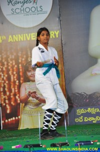 Karate Andhra Girl