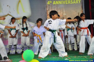 Indian Children Karate Kung fu Show