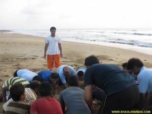 Shaolin Kung fu Training Andhra