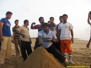 Andhra Kung fu Training