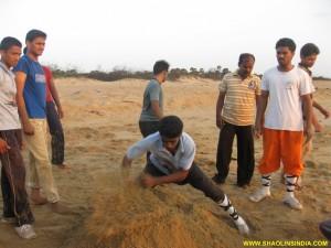 Shaolin Kung fu Monk Training Andhra