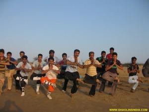 Shaolin Kung fu Balance Training