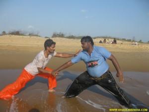 Shaolin Kung fu Master Prabhakar Reddy
