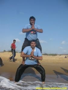 Kung fu Hard Balance