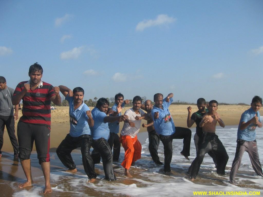 Shaolin Kung fu Andhra Training