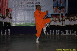 Shaolin Monk India