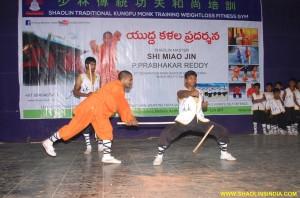 Shaolin Kung fu Breaking