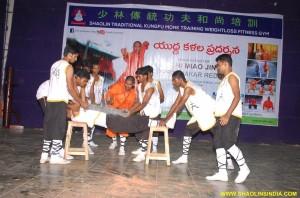 Shaolin Kung fu Nellore Live Show India