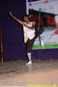 Andhra Shaolin Kung fu Monk Trainer Shifu Prabhakar Reddy