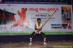 Shaolin Kung fu Monk Weapons Taolu