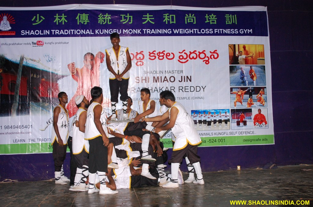 Shaolin Kung fu Stunts