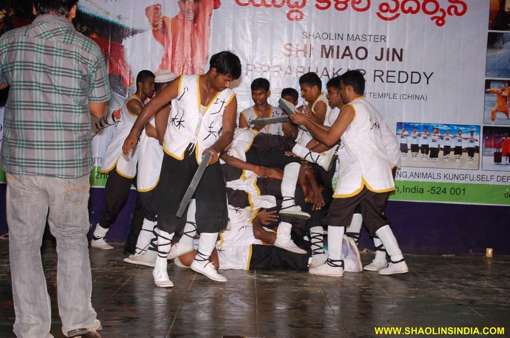 Shaolin Kung-fu Students