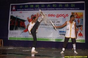 Shaolin Kung fu Monk Kicks