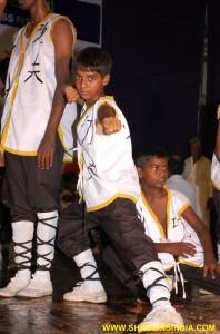 Kung fu Students