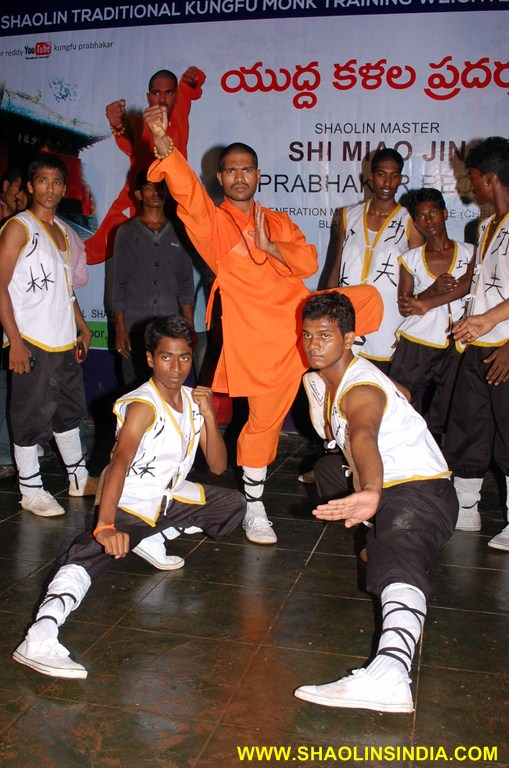 Shaolin Kung-fu Monk Forms