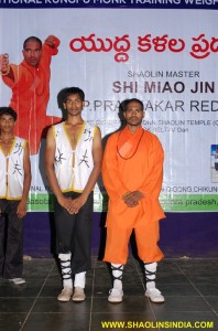 Shaolin Kung fu Students India