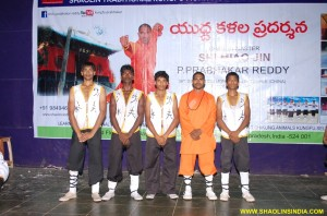 Shaolin Kung-fu Team India