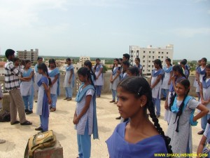 Nellore Karate Training Girls