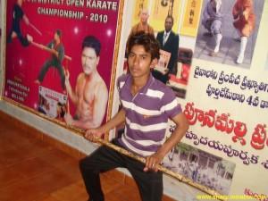 Shaolin Nan Gun Training Master Shifu Prabhakar Reddy