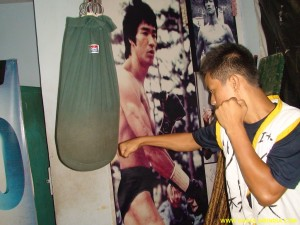 Shaolin Jammu Kung-fu Training