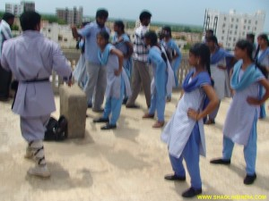 Nellore Child Karate Girls India