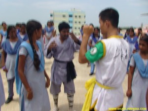 Martial arts Training Camp Nellore Ladies