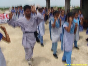 Martial arts Training Girls in India