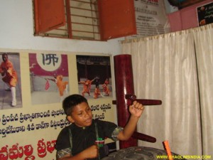 Nellore Wushu Master India