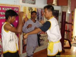 Shaolin Kung-fu Combat Training