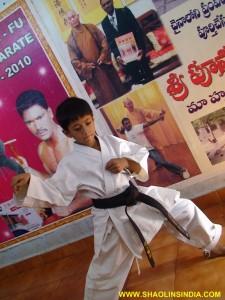 Shaolin Kung-fu Orissa Wushu Camp