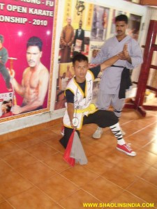 Shaolin Kung-fu Dao Training