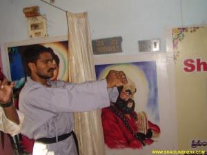 Shaolin Wushu Master Training