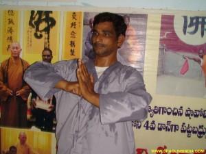 Shaolin Martial arst Training Nizamabad
