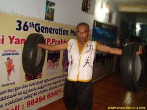 Shaolin Monk Training