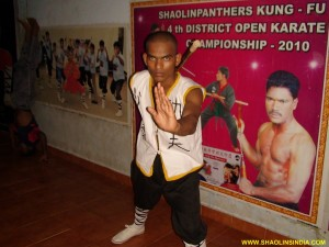 Shaolin Monk Weapons Training